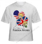 USxUK: Foreign Affairs Shirt by CenaFenrier