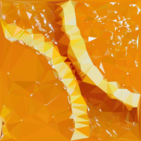 Abstract Art : Fruits : Orange by kenkchow