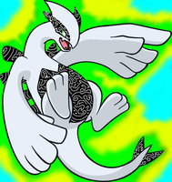 Lugia used Ancient Power by Tanktoise