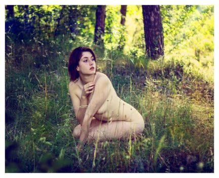 Lila in the forest 05 by Zone-studio