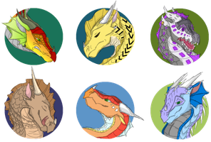 Headshot Batch #1 by Shallowpond