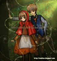 Wolf and Red Riding Hood, by Wishluv by NewTrials