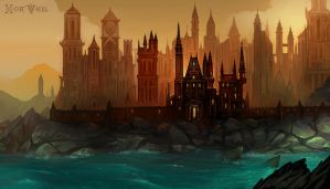 Grandious, The Evil Stronghold by Banzz