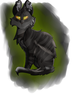 Darkstripe by The-Tw0faced-cat