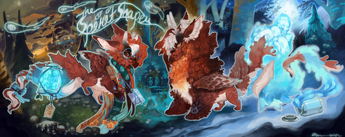 [LD]Hatchling - The Spirit Shaper by Sapphu-Adopts