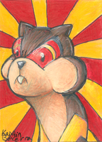 I'm Watchoging You ACEO