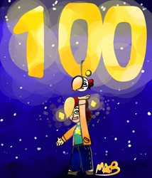 100 Youtube Subcriber Special!!! by TheDrawingMorgs
