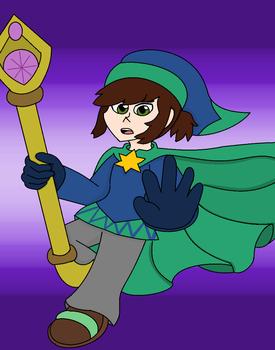 Davis the Magician by GreenySolitare
