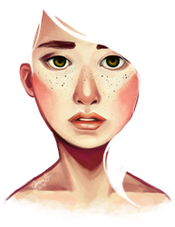 transparency and freckles by leeyoo