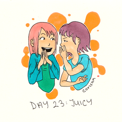 Day 23 - Juicy by klice-chan
