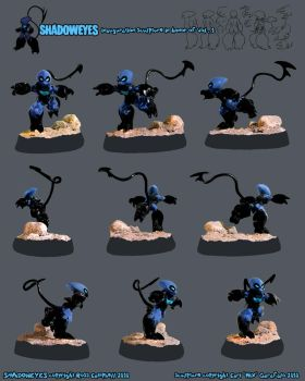 .:SHADOWEYES sculpture:. by madmen