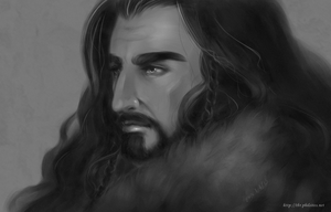 The Hobbit - Thorin Oakenshield by himlayan
