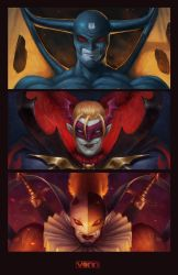 The Demon, Vampire, and the Clown by Tvonn9