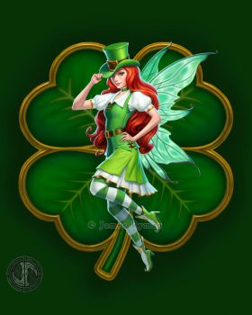 St Patricks Day Fairy by namesjames