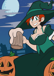 Octoberwitchcarol by Crave-The-Bullet