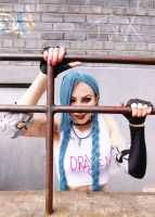 JInX League of Legends by Fiora-solo-top