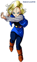 Android 18 Render by ceil210