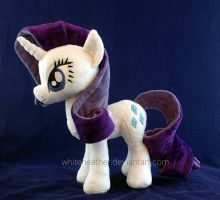 Rarity plushie by WhiteHeather
