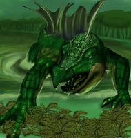 Swamp Dragon by HardyRR