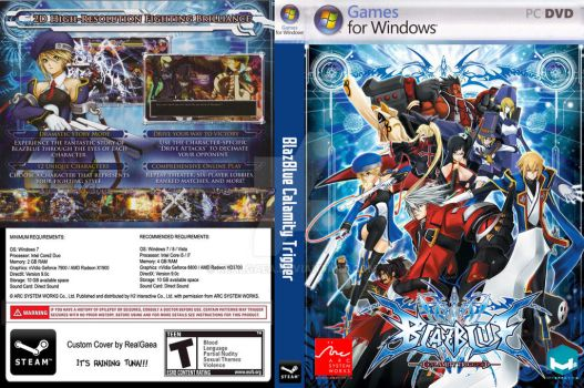 BlazBlue Calamity Trigger (Steam ver.) CustomCover by RealGaea