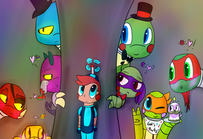 Five Nights at TMNT's Family Picture by Foziz105
