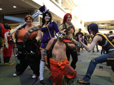 Megacon 2013: Borderlands 2 by ChriSpaiNess