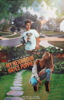 My Neighbour Hates Puppies - wattpad cover by reeawhatever