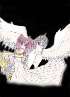 lil Rini and Pegasus by serennac