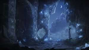 Ancient cave by ReFiend