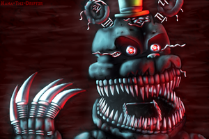 Nightmare FnaF4 by Kana-The-Drifter