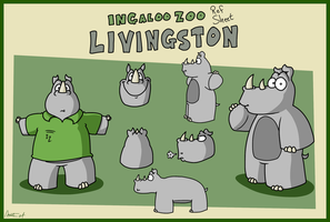 Ref Sheet 2018: Livingston by AgentC-24