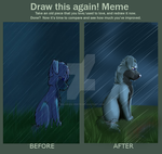 Draw This Again meme by SolarXolverite