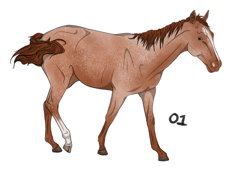Warmblood Light Adopt 1 GIVEAWAY CLOSED by livia-is-an-artist