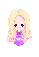 Commission - Tiny Rapunzel by Wild-Fluff