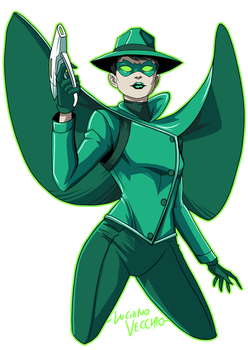 Mulan Kato GREEN HORNET by LucianoVecchio