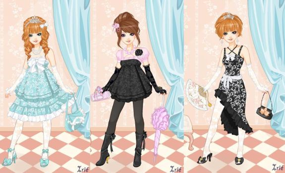 Dressup Game by wantacookie