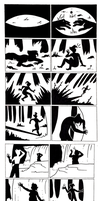 Silhouette Comic by AlfaFilly