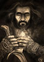 Thorin king under the mountain by effix35