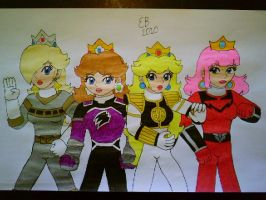 The Princess Rangers by shnoogums5060
