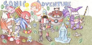 Sonic Adventure by MilesTailsPrower-007