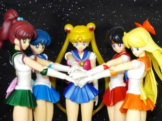Sailor Moon S.H. Figuarts - Sera Myu pose by MoonCollectar