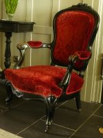red seat by Mihraystock