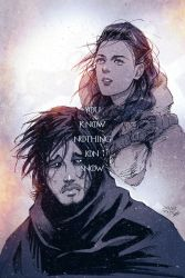 You Know Nothing, Jon Snow by vashperado