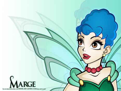 Marge in Winx by maryjuver