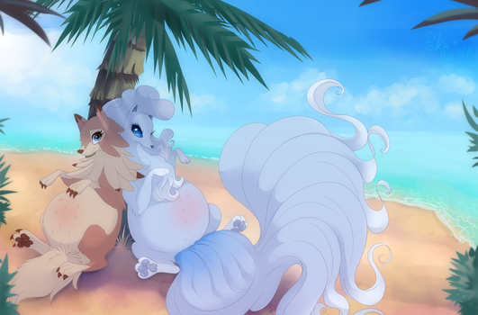 An Alolan Afternoon by Michael123789