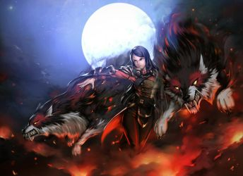 to the Battle - Banehallow the Lycan Dota 2 fanart by OHOdavi