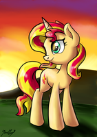 When the sun comes down by GaelleDragons