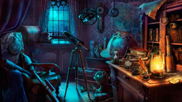 Room astrologer by abzac666