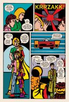 Lady Spectra and Sparky: Symbiotic Man pg. 06 by JKCarrier