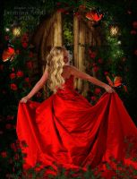 Red Roses Garden (updated) by Jassy2012
